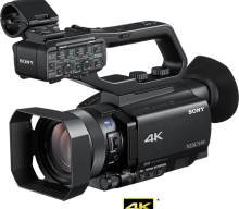 Sony's new 4K HDR PXW-Z90 unboxing