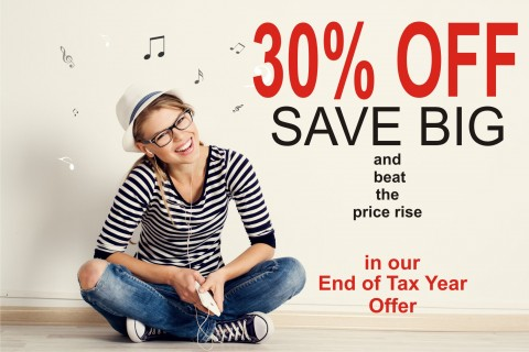 Expired: AKM Music,  SALE on our Royalty Free Music until April 6th